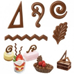 Wilton Candy Mold Dessert Accents