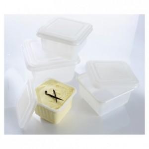 Square ice cream mould 1/2 L (25 pcs)