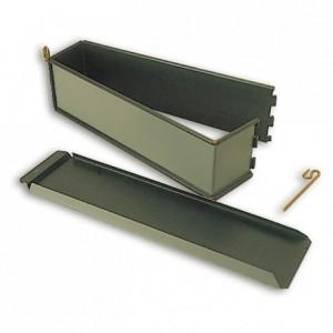 Long plain paté mould Exopan 300 x 70 x 85 mm