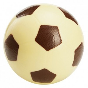 Football chocolate mould in polycarbonate 190 x 120 mm