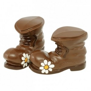 Chocolate mould polycarbonate 1 boot