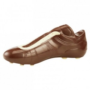 Chocolate mould polycarbonate 2 football shoe
