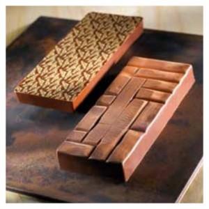 "Mould chocolate Delicious bar 200 g ""Pavé"""