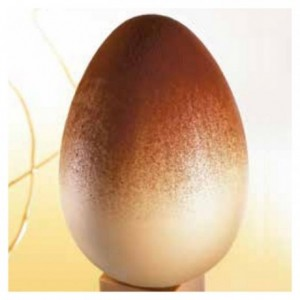 """Mould chocolate egg """"Oeuf"""" 13 cm"""