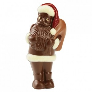 Chocolate mould polycarbonate 1 standing Santa Claus