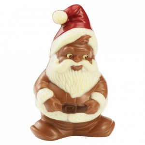 Chocolate mould polycarbonate 1 goblin Santa Claus