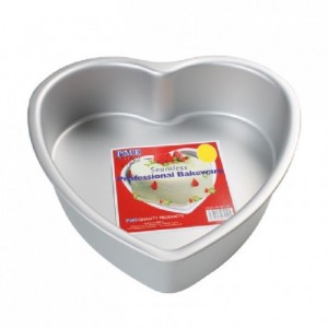 PME Deep Heart Cake Pan 20 x 7,5cm