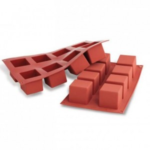 Cubes silicone mould 50 x 50 mm