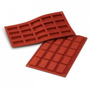 Small financiers silicone mould 49 x 26 mm