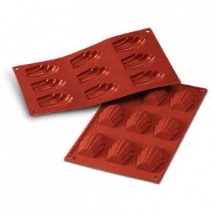 Madeleines silicone mould 68 x 45 mm