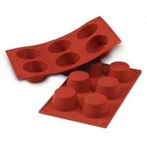 Medium muffins silicone mould Ø 69 mm