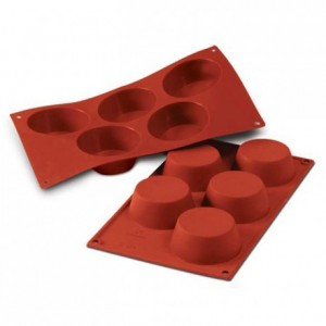 Big muffins silicone mould Ø 81 mm