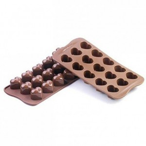 Mon Amour chocolate silicone mould 30 x 22 x 25 mm