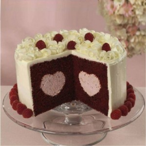 Wilton Heart Tasty Fill Cake Pan Set