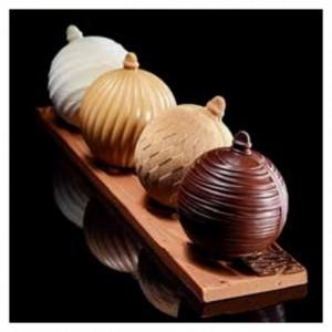 "Mould chocolate ""Christmas balls"" 13 cm"