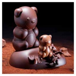 "Chocolate mould ""Teddy bear"" 14 cm"