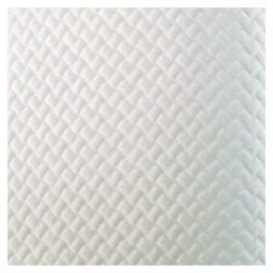Damask table cloth white 60 x 60 cm (500 pcs)