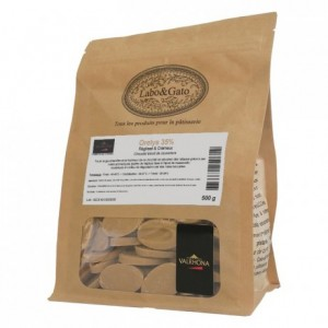 Orelys 35% blond chocolate with muscovado beans 500 g