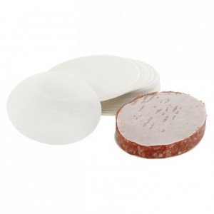 Oval paper for burger (1000 pcs)