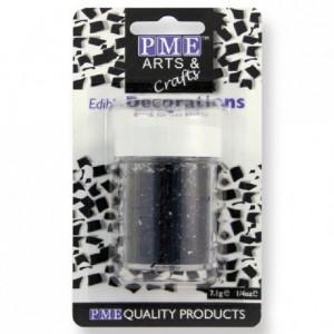 PME Glitter Flakes Black 7g