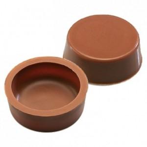 Palets milk chocolate hollow forms 630 pcs