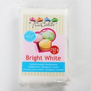 FunCakes Fondant Bright White Vanilla 250g