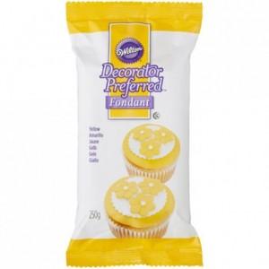Wilton Decorator Preferred Fondant Yellow -250g-
