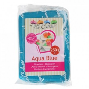 FunCakes Marzipan Aqua Blue 250g