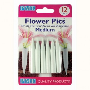 PME Flower Pics Medium pk/12