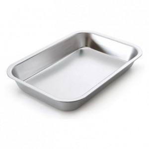 Food storage pan aluminium L 310 mm