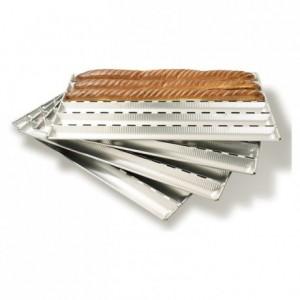 Alu-Gaufer bread sheet 850 x 430 mm