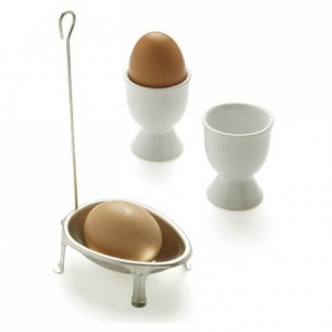 Individual egg poacher tinplate 100 x 68 mm