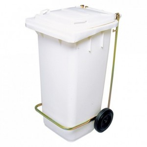 120 litre with lid bin