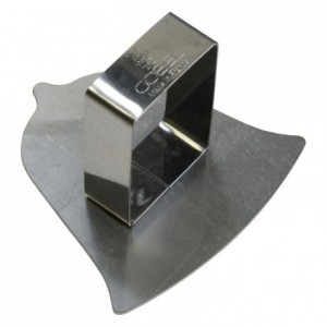 Bell pusher stainless steel 70x70 mm (pack of 6)