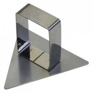 Triangle pusher stainless steel 65x73 mm (pack of 6)
