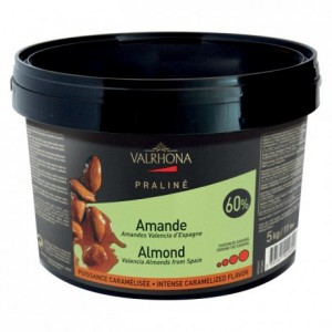 Almond Caramelized Praliné 60% nuts 5 kg