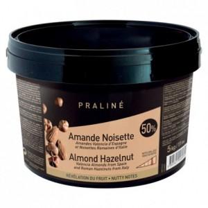 Almond Hazelnut Caramelized Praliné 50% nuts 5 kg
