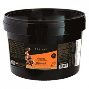 Hazelnut Fruity Praliné 55% nuts 5 kg