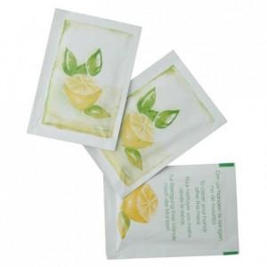 Refreshing towel lemon scent (box of 1000 pcs)