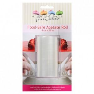 FunCakes Acetate Roll H 8 cm