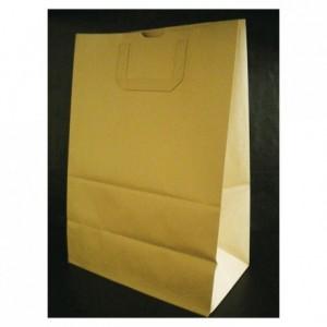 Brown kraft paper bag 430 x 300 mm (250 pcs)