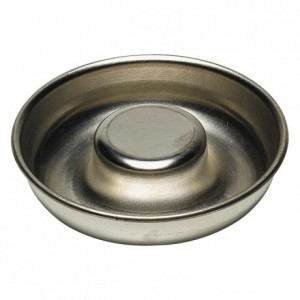 Single serving savarin mould closed tube tin Ø70 mm (pack of 12)