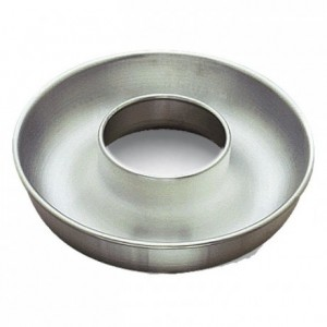 Deep savarin open tube aluminium Ø260 mm (pack of 3)