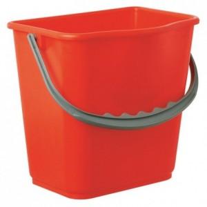 5 L red bucket