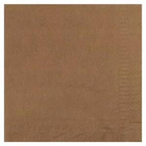 Cellulose chocolate napkin 39 x 39 cm (100 pcs)