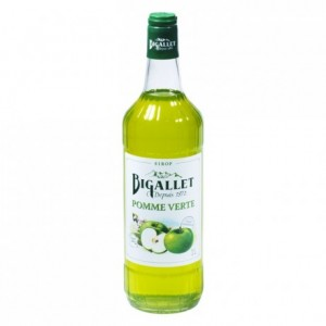 Green apple syrup 1 L