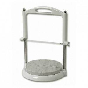 Marble-topped round base for roquefort slicer  Ø 220 mm