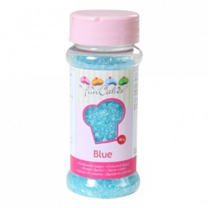 FunCakes Coloured Sugar Blue 80g