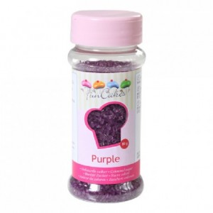 FunCakes Coloured Sugar Purple 80g