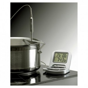 Digital Thermometer holder stainless steel